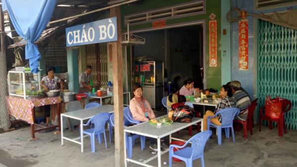 Quán cháo bò 20 năm thơm ngon ăn kèm với bún lạ lẫm ở An Giang với giá cực rẻ