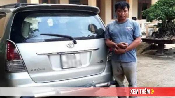 Bắt quả tang người đàn ông dùng ôtô đi trộm chó