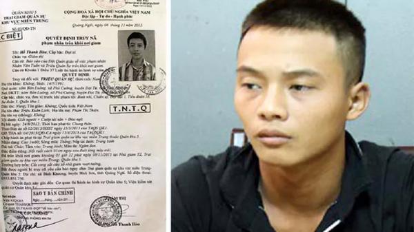 Đối tượng vượt ngục lần 2 nghi cướp điện thoại, xe máy đang lẩn trốn ở Quảng Nam