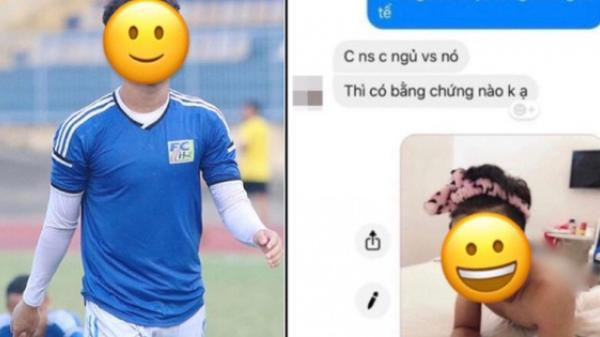 Xôn xao chuyện 1 cầu thủ bị l.ộ ảnh nh.ạ.y c.ả.m, được cho chính là hot boy sân cỏ mới nổi của U23 Việt Nam