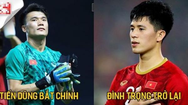 Việt Nam có thể sẽ tung đội hình mạnh nhất đối đầu với U23 Jordan