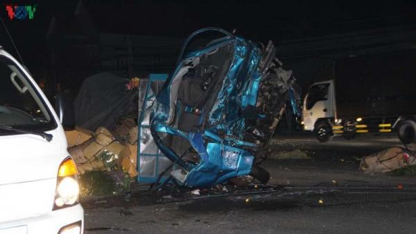 Tai nạn nghiêm trọng: Xe khách v.a ch.ạm xe tải, nhiều người th.ương v.ong