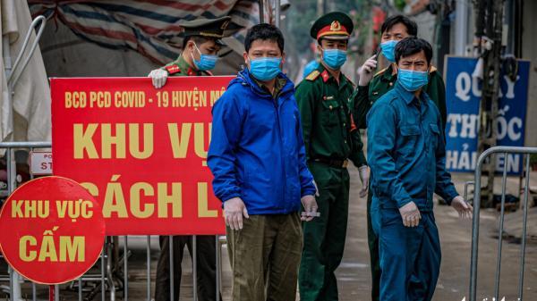 Phát hiện từng đi ăn cơm cùng BN 243, toàn bộ công an một phường ở Hà Nội phải lập tức cách ly