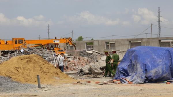 Tạm giữ 4 người liên quan vụ sập tường khiến 10 người tử vong ở tỉnh Đồng Nai