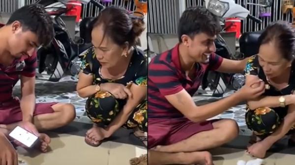 Cô dâu 65 tuổi nũng nịu khi chồng Tây đút cơm cho ăn khiến hội FA ghen tỵ: Chắc giờ chồng tớ vẫn chưa ra đời
