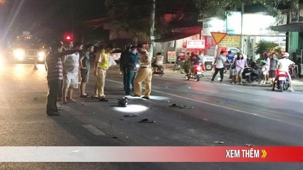 THƯƠNG TÂM: Tự ngã ra đường, hai thanh niên trẻ bị xe ben cuốn vào gầm cán tử vong