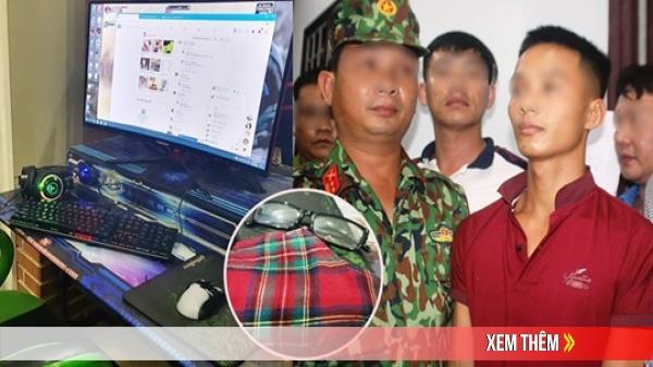Công an ập vào quán internet, Triệu Quân Sự đưa tay ra: 'Các anh bắt em đi'