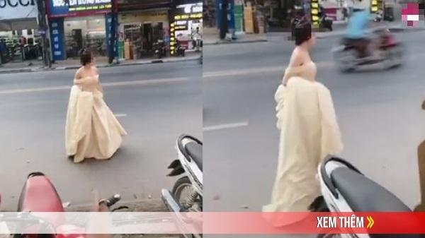 Cô gái hớt hải xách váy chạy bộ cả cây số, hỏi thăm đến lễ cưới người yêu cũ chỉ để được nhìn anh mỉm cười lên xe hoa
