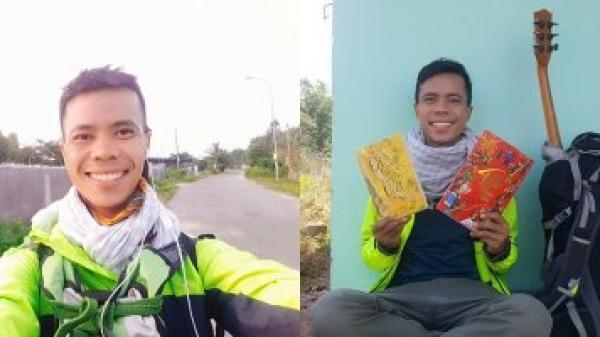 """Thanh niên một mình đi bộ 400 km về quê ăn tết """"Chỉ mang 100k để coi đó là thử thách"""""""