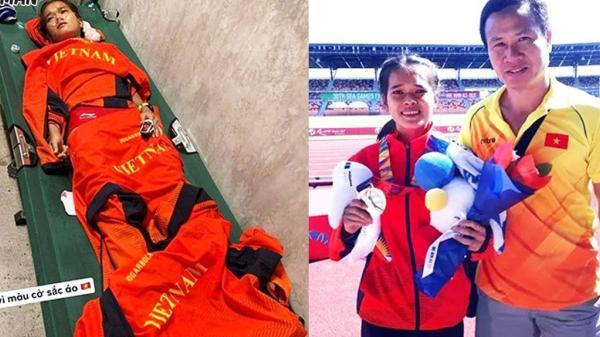 Xót xa VĐV Việt Nam kiệt sức giành huy chương dù chủ nhà chơi xấu
