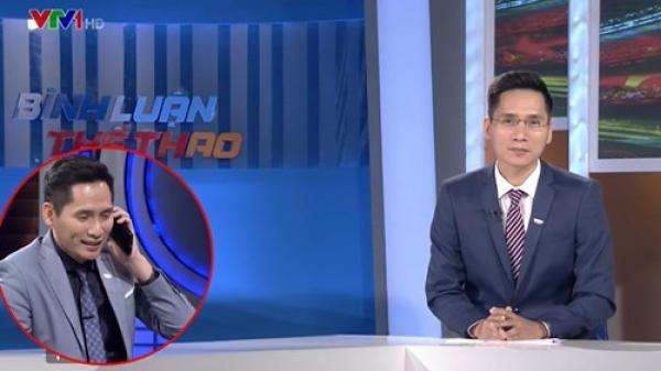 BTV Quốc Khánh bất ngờ lên tiếng xin lỗi thủ môn Bùi Tiến Dũng trên sóng trực tiếp VTV: 'Khi đã nỗ lực hết mình thì không có lỗi'