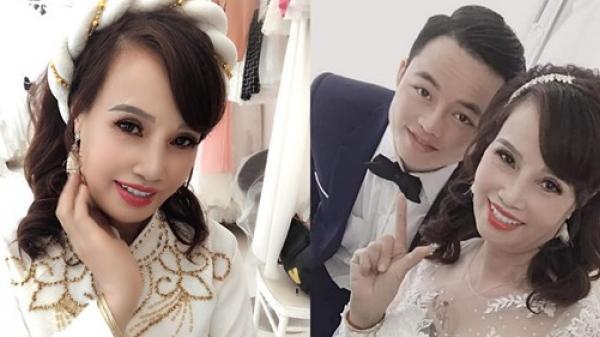 """Sau khi """"tân trang"""" nhan sắc, cô dâu 62 tuổi cùng chồng đi chụp lại ảnh cưới để… hâm nóng tình cảm"""