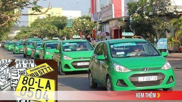 CHÚ Ý: Những loại xe ô tô phải chuyển sang biển màu vàng từ 1/8