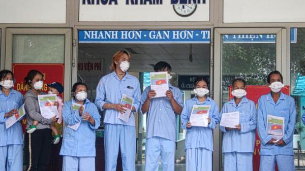 Bệnh viện dã chiến ở Đà Nẵng chữa trị thành công 10 ca COVID-19 đầu tiên