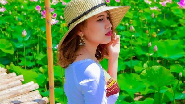 """Cánh đồng sen Ninh Thuận: Địa điểm lí tưởng để đến """"check in"""""""