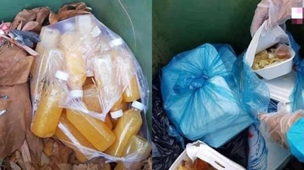 Đà Nẵng: CĐM tranh cãi vì đồ ăn bị bỏ do mọi người ủng hộ quá nhiều