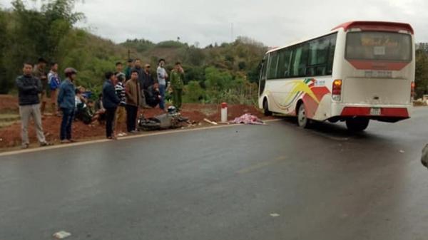 Sơn La: Va chạm với xe khách đi ngược chiều, một người tử vong tại chỗ