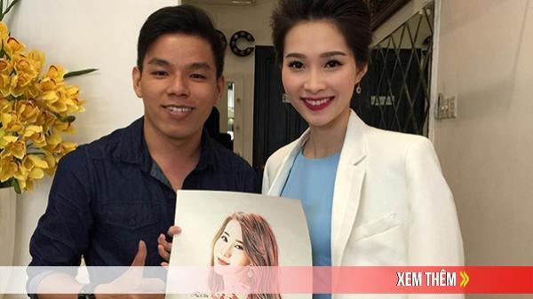 Chàng trai Đồng Tháp kể chuyện toát mồ hôi hột những lần vẽ tranh cho nghệ sĩ Việt