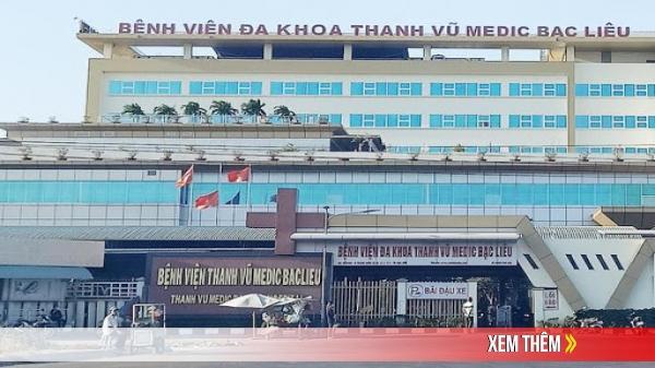 Bệnh viện Đa khoa Thanh Vũ Medic Bạc Liêu: Miễn 100% tiền chênh lệch phiếu khám bệnh cho trẻ từ 6 tuổi trở xuống