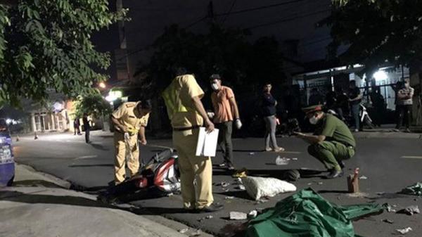 Sau cuộc nhậu đêm, nam thanh niên phóng xe tông nát ghế đá, chết thảm