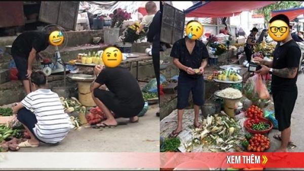 Lấy được ông chồng xӑм ᴛгổ, cô gái hãnh diện khi ra chợ mua được hàng rẻ đến nửa giá: Có ít mực trên người nó phải khác