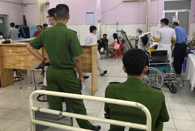 Sau 3 ngày cấp cứu tại bệnh viện, Trung úy Tân đã q.ua đ.ời