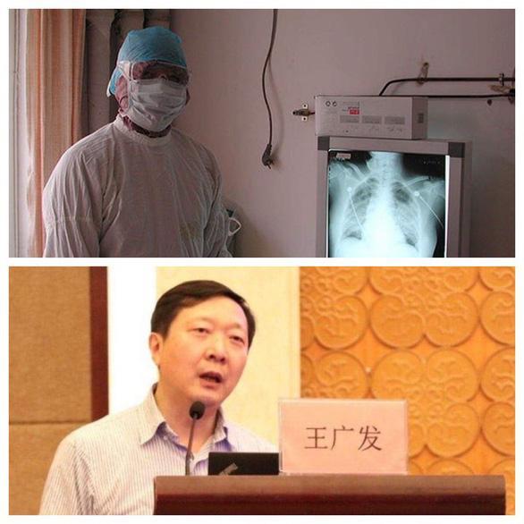 Bác sĩ Vương Quảng Phát - Ảnh chụp màn hình