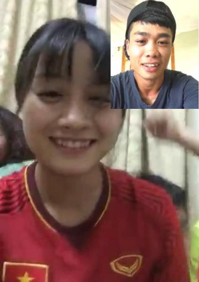Cách đây không lâu, fan phát hiện bức ảnh Hoàng Thị Loan và Công Phượng gọi video call với nhau.