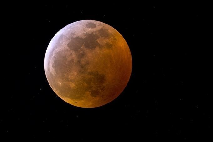 Siêu trăng xuất hiện vào năm 2019. (Ảnh: NASA)