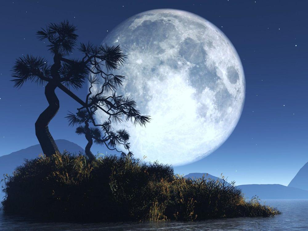 Hiện tượng siêu trăng này còn được một bộ tộc ở Châu Mỹ gọi bằng khá nhiều cái tên. (Ảnh: Pinterest)