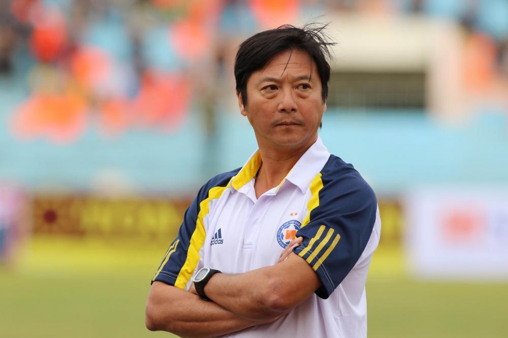 HLV trưởng CLB Đà Nẵng Lê Huỳnh Đức.