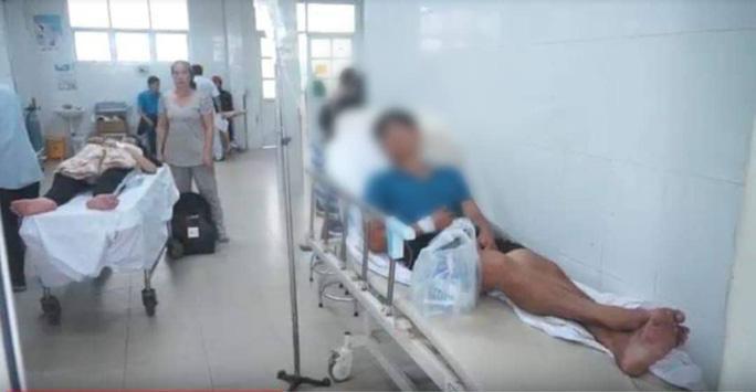 Anh Tính tại bệnh viện