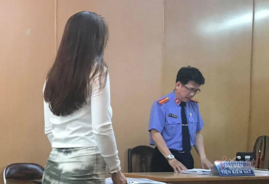 Bị cáo Nguyễn Thị Kim Vàng tại phiên phúc thẩm